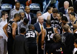 Gregg Popovich and his Spurs