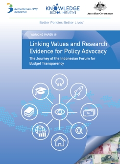 Linking Values and Research Evidence for Policy Advocacy