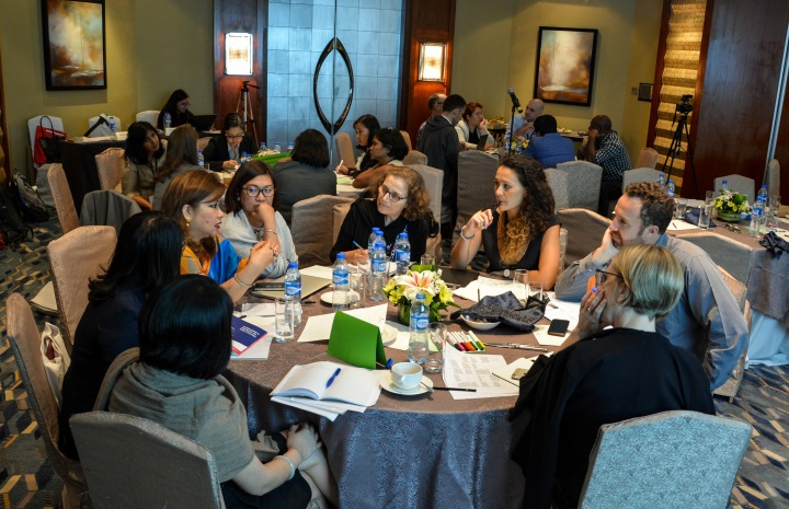 Sharing, discussing, learning .... Asia Foundation