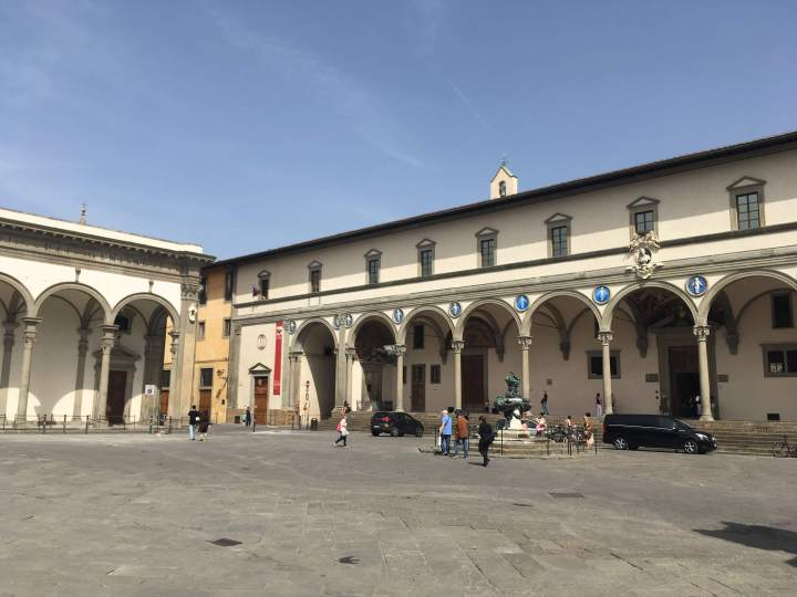 Adaptive and sustainable? The Ospedale degli Innocenti opened in 1419.